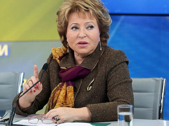 Матвиенко предложила россиянам отдыхать в Туркмении