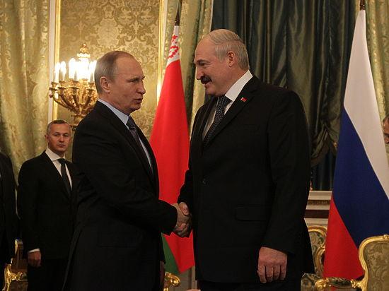 Загадочные переговоры Путина и Лукашенко закончились рассказом про Коленьку