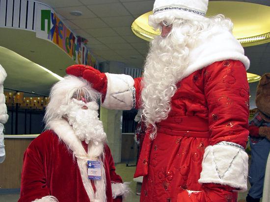 Пятиминутка с Дедом Морозом