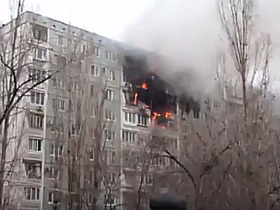 Взорвавшийся дом в Волгограде может рухнуть