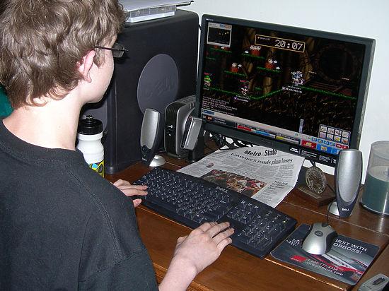 Компьютерные игры влияют на структуру мозга