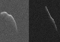 Продолговатый астероид 2003 SD220 сегодня, 24 декабря, окажется в 11 миллионах километров от Земли – на расстоянии довольно небольшом по космическим меркам, однако достаточном, чтобы не представлять для планеты угрозы