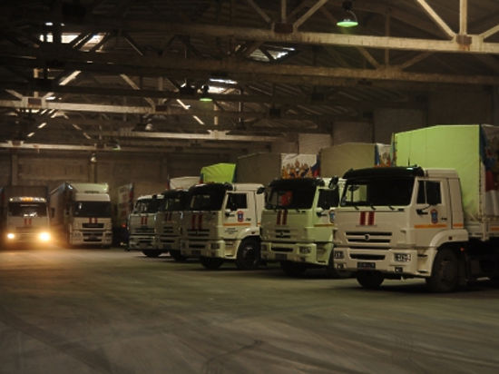 Гуманитарная помощь к праздникам прибыла в Донецкую и Луганскую области