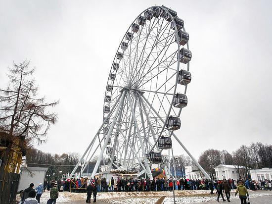 В Центральном парке Владимира открылось колесо обозрения «Небо-33»