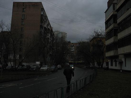 Найдена самая темная улица Москвы