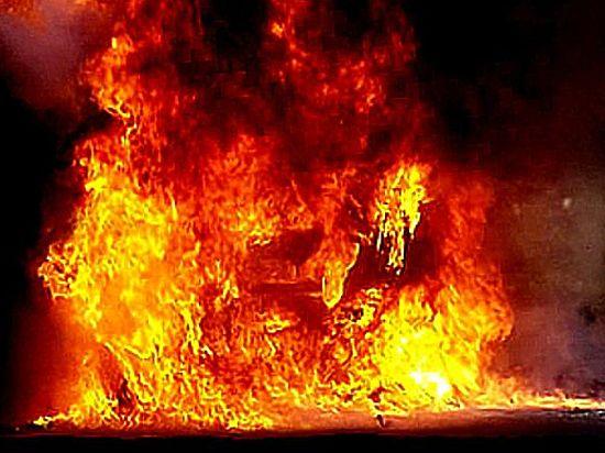 В Красноярском крае подожгли мэрию Дудинки, сгорели два человека