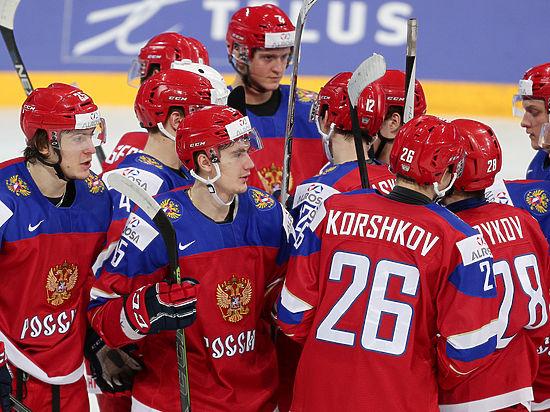 Россия обыграла Данию в овертайме и вышла в полуфинал МЧМ по хоккею. Онлайн-трансляция