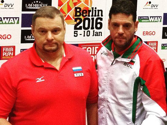 Россия – Болгария: как наши волейболисты приблизились к Рио-де-Жанейро в Берлине