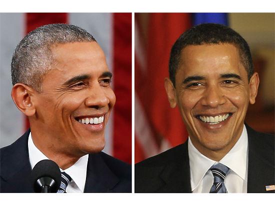 Журнал Time показал, как изменился Обама за годы правления