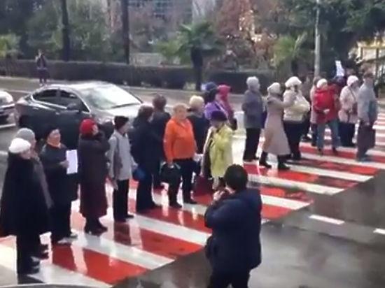 Пенсионеры Краснодара и Сочи парализовали города из-за льгот на проезд