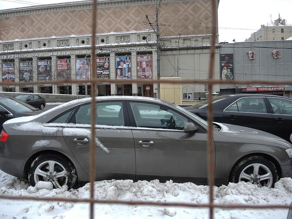 Московские культурные объекты страдают от нехватки парковок