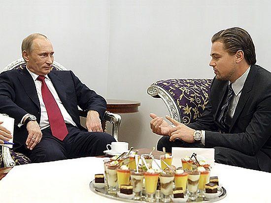 Ди Каприо захотел сыграть Путина: было бы очень интересно
