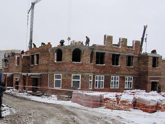 В микрорайоне Суворовском возводят детский сад на 160 мест