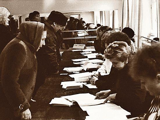 Как в Крыму 25 лет назад проходил первый советский референдум