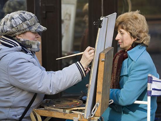 На Арбате разогнали художников