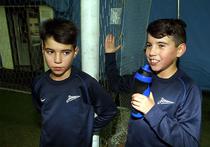 Дети Халка и Данни учатся в Петербурге футболу