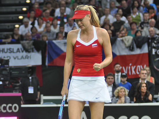 Шарапова включена в состав сборной России на четвертьфинал Кубка Федерации