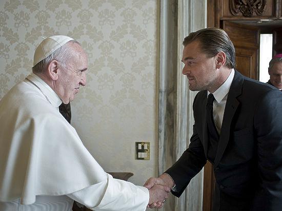 Американский актер посетил с визитом Ватикан
