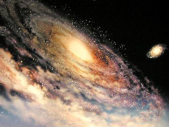 На нашу Галактику летит гигантское газовое облако