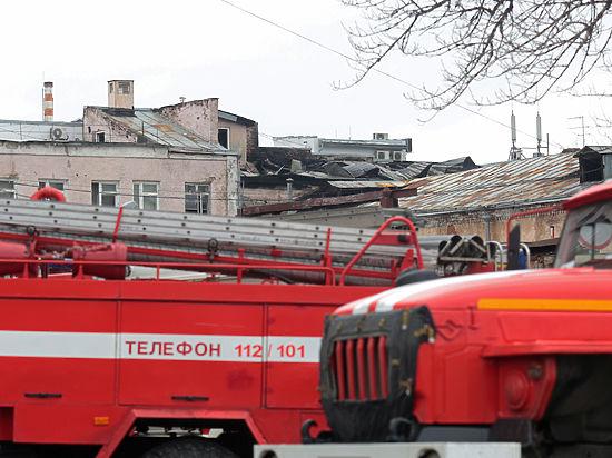 Здание, где погибли 12 человек, горело равномерно со всех сторон