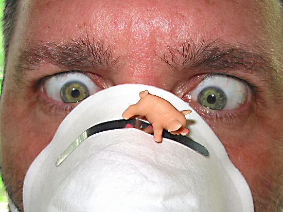 В связи с эпидемией гриппа у москвичей начались психозы