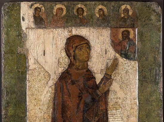 В Москве проходит выставка чудотворной иконы