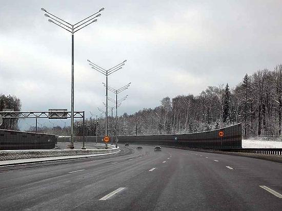 Проезд по трассе через Химкинский лес станет дешевле до апреля