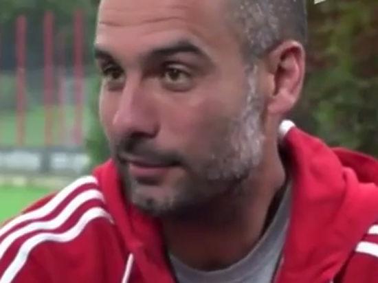 Гвардиола подписал с «Манчестер сити» контракт на три года
