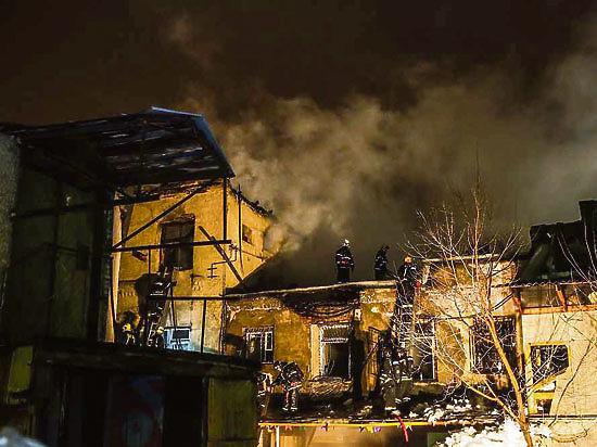 В московском пожаре погибли кыргызстанцы
