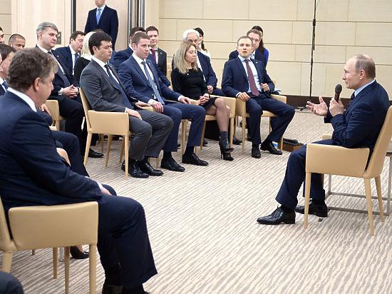 Встреча Путина с «Клубом лидеров» получилась на редкость странной