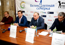 В Московском дворце пионеров на Воробьевых горах на днях стартовал гольф-проект «Великолепная семерка»