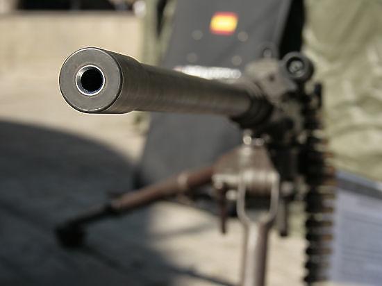 Военнослужащий занимался обучением сирийских бойцов