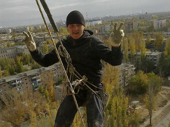 Промышленный альпинист едва не погиб из-за отказа починить антенну