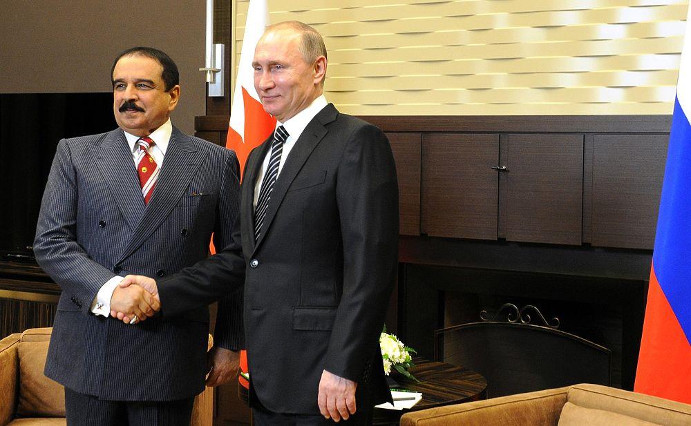 Российский президент и король Бахрейна обменялись подарками в Сочи