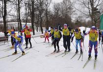 В московском парке «Сокольники» прошел необычный лыжный кросс