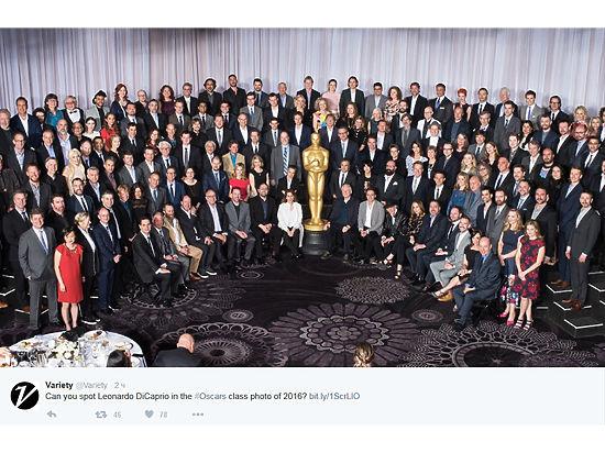 Ужин номинантов на «Оскар»: что обсуждали Ди Каприо и Сталлоне