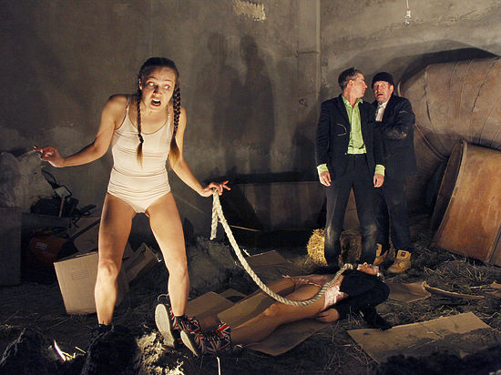 Частная театральная лаборатория в Краснодаре показала спектакль по Беккету