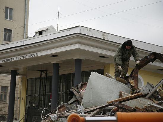 В Госинспекции по недвижимости объяснили ночной снос павильонов в Москве