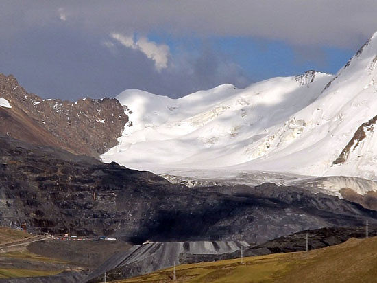 Разработка Кумтора не влияет на ледники