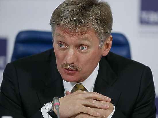 В Кремле прокомментировали инцидент с тортом