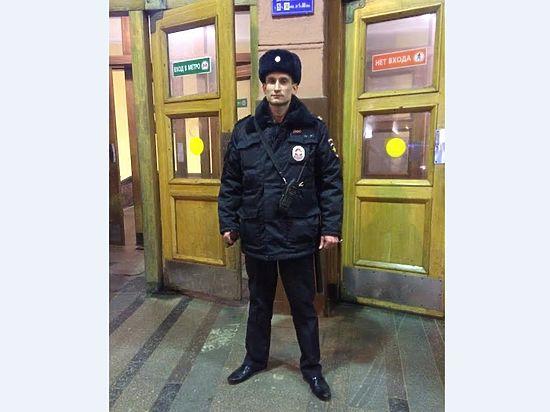 Полицейский, спасший женщину в метро, рассказал о своем подвиге