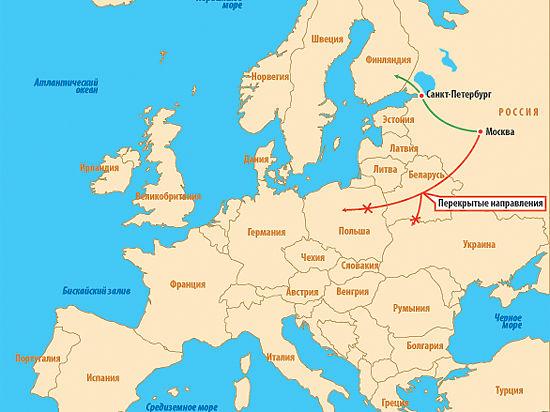 «Правый сектор» начал транспортную блокаду России
