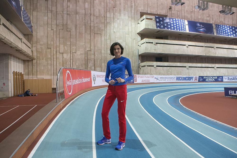 Олимпийская чемпионка Анна Чичерова провела мастер-класс в Москве