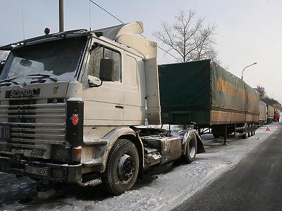 Минтранс: в России заблокировано около 200 фур Украины