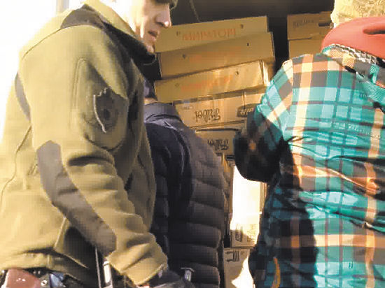 В Реутове только за 2 дня нашли 15 тонн санкционной еды
