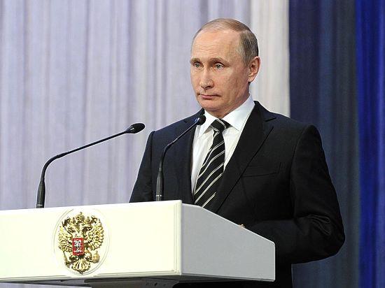 В Кремле проходит торжественный вечер, приуроченный ко Дню защитника Отечества