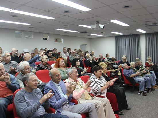 Праздник русскоязычной поэзии Израиля в Российском культурном центре в Тель-Авиве