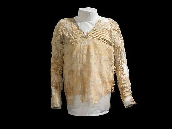 Ученые нашли древнейшее в мире платье