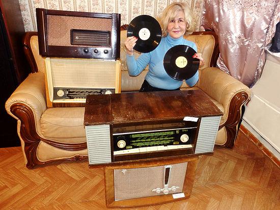 В коллекции Резиды Чичан насчитывается более 200 единиц радиотехники