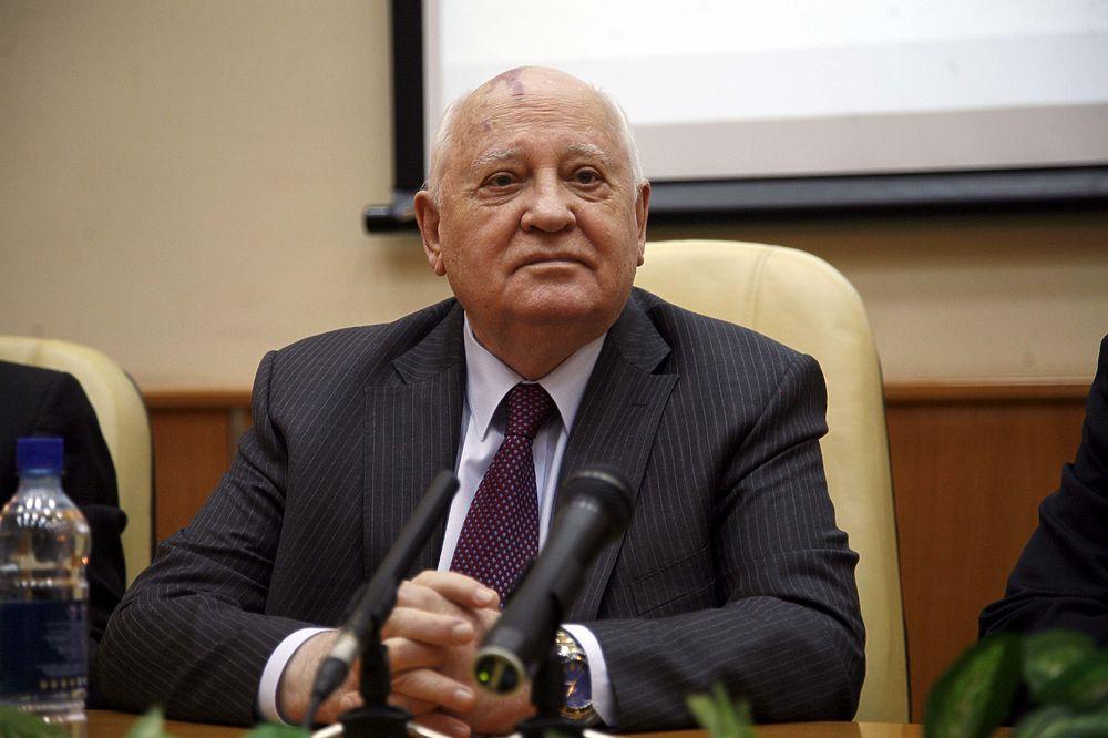 Михаил Горбачев принял участие в презентации книги о себе «Горбачев в жизни»